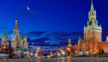 Trip to Moscow, Russia